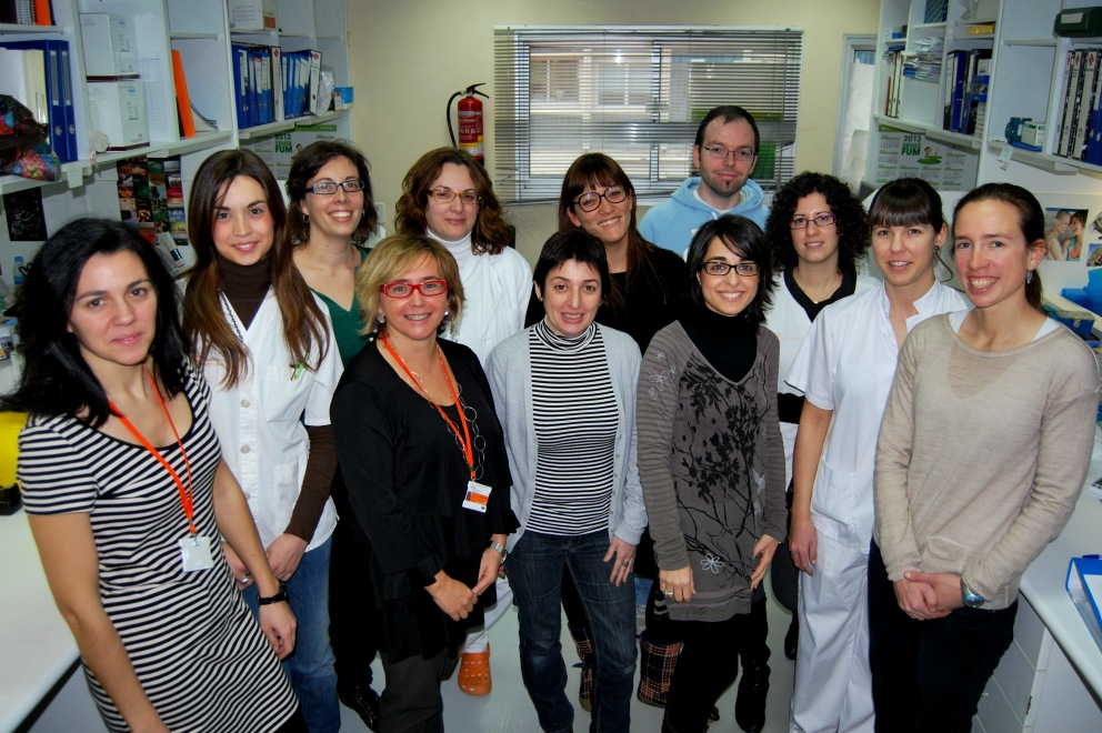 foto Research team of Conxi Lázaro PhD, head of the study.