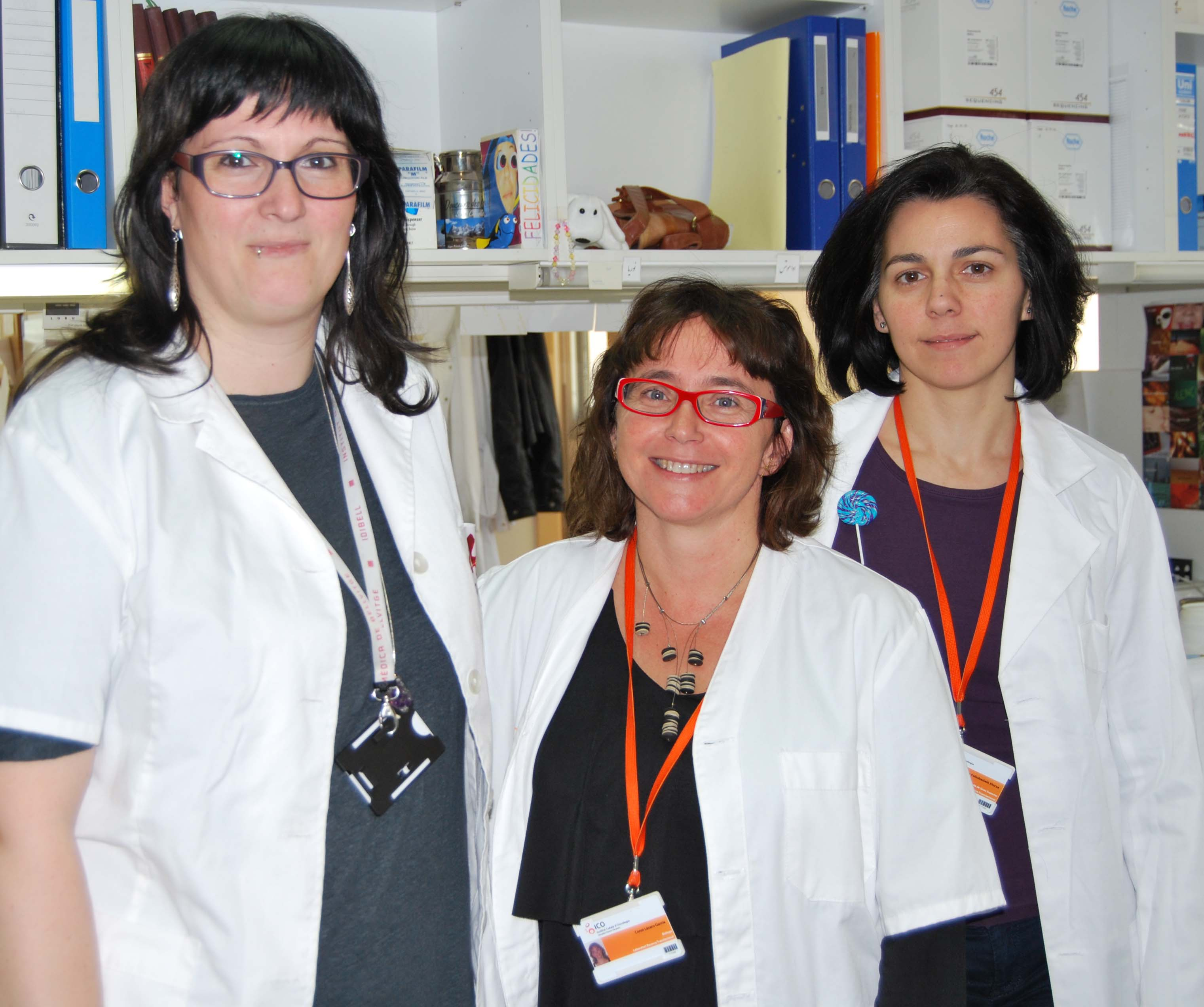 foto Researchers Juana Fern�ndez, Conxi L�zaro and L�dia Feliubadal�