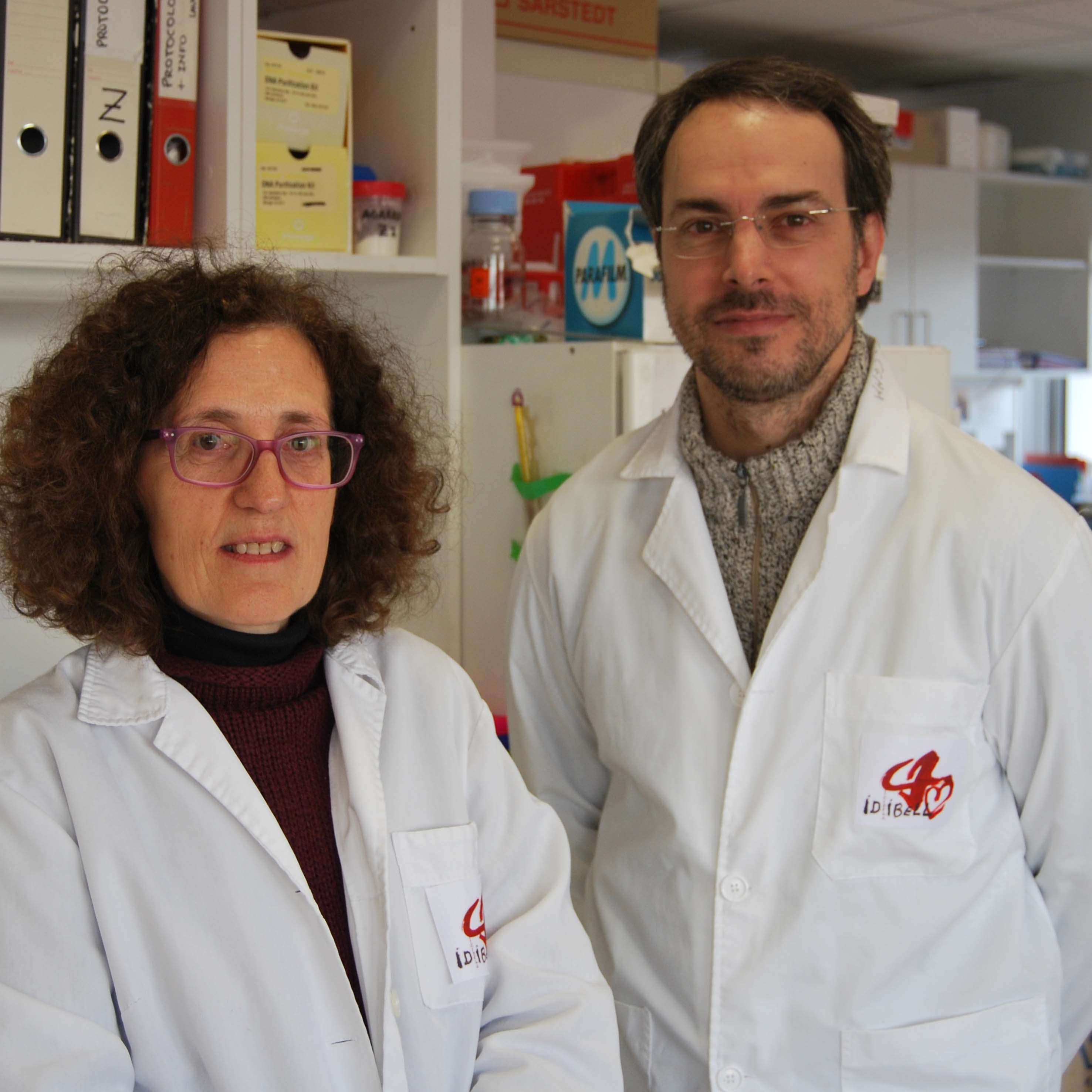 foto Researchers Virginia Nunes y Miguel L�pez de Heredia